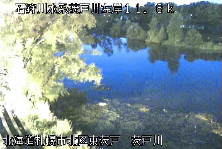 茨戸川東茨戸ライブカメラ(北海道札幌市北区)