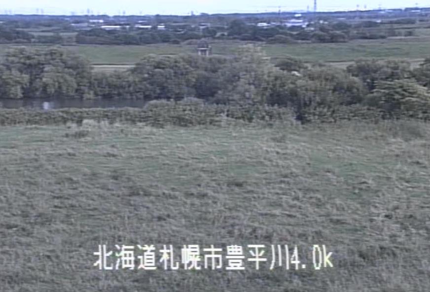 豊平川中沼町ライブカメラ(北海道札幌市東区)