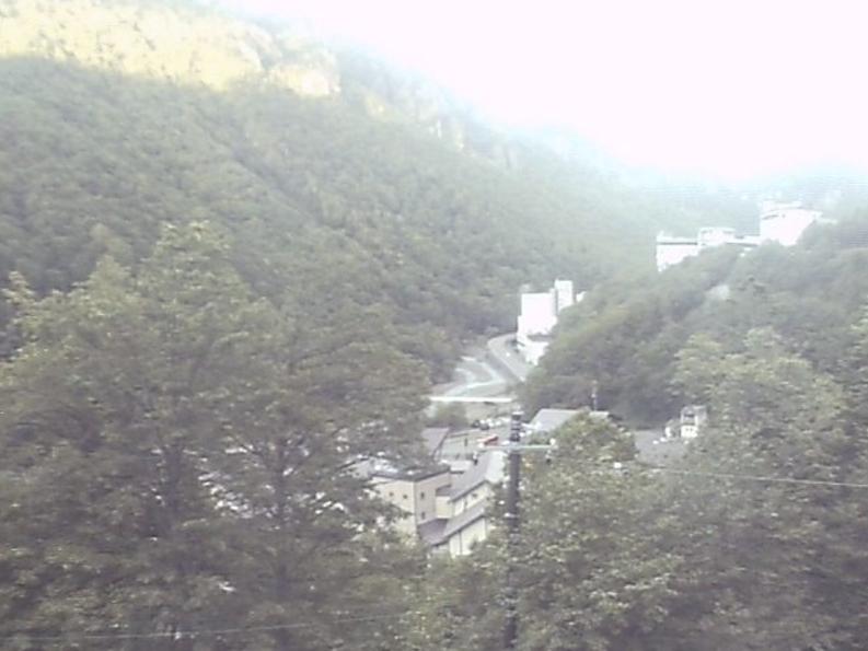層雲峡温泉ライブカメラ(北海道上川町層雲峡)