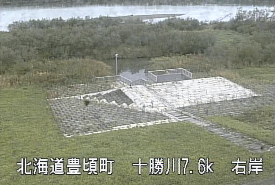 十勝川寒々平救急排水機場ライブカメラ(北海道豊頃町旅来)