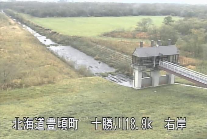 十勝川下牛首別排水機場ポンプ場ライブカメラ(北海道豊頃町牛首別)