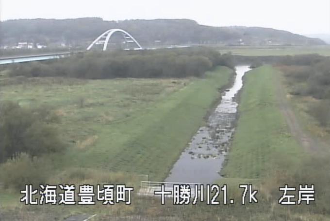 十勝川育素多排水機場ライブカメラ(北海道豊頃町育素多)