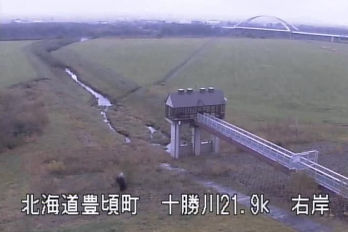 十勝川農野牛救急排水機場ライブカメラ(北海道豊頃町農野牛)