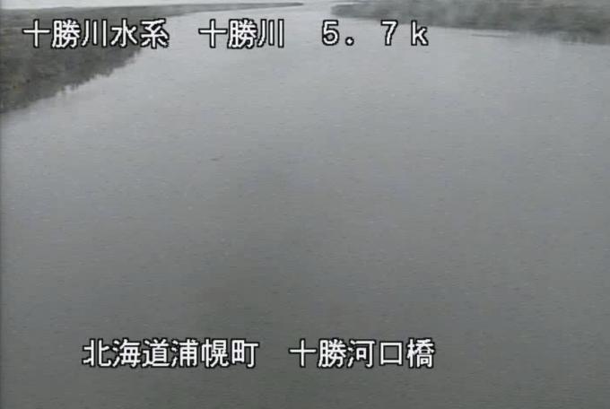 十勝川十勝河口橋ライブカメラ(北海道浦幌町ベツチヤロ)
