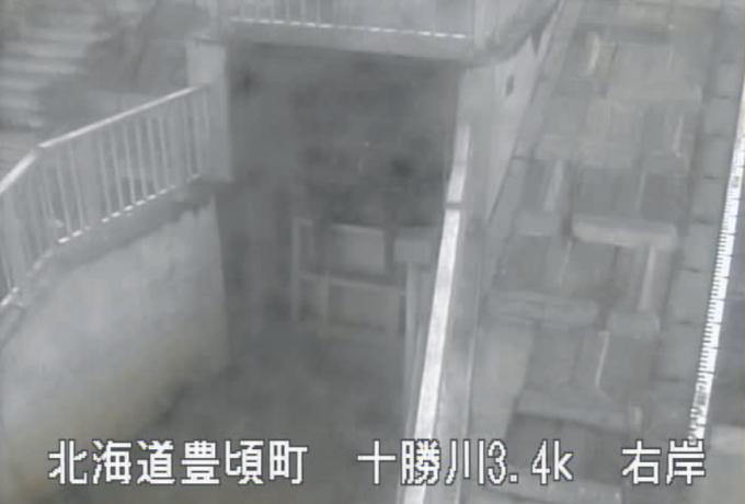十勝川大津救急排水機場樋門ライブカメラ(北海道豊頃町大津)
