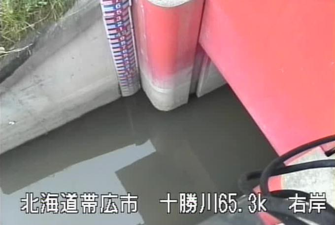 十勝川西帯広第2樋門ライブカメラ(北海道帯広市西25条北)