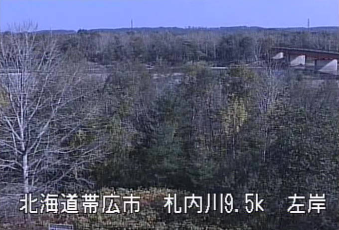 札内川愛国大橋ライブカメラ(北海道帯広市稲田町東)