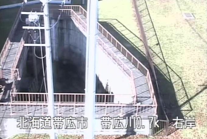 帯広川帯広排水機場ライブカメラ(北海道帯広市東12条南)