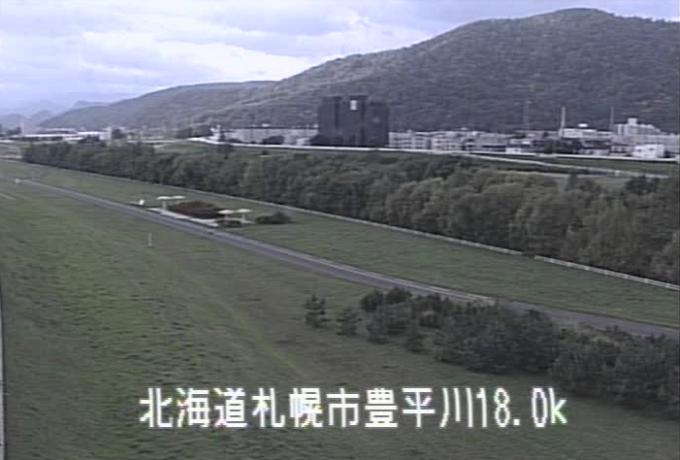 豊平川南22条橋ライブカメラ