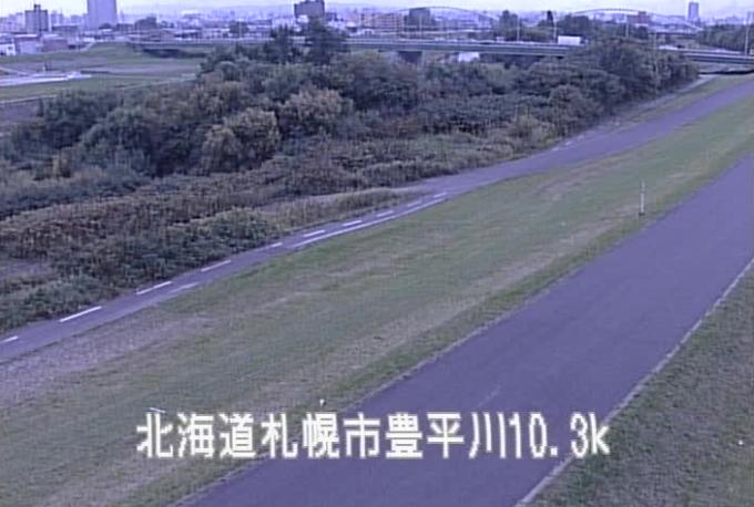 豊平川環状北大橋ライブカメラ