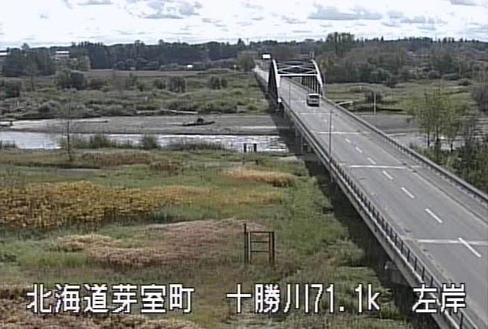 十勝川祥栄橋ライブカメラ(北海道芽室町北芽室北)