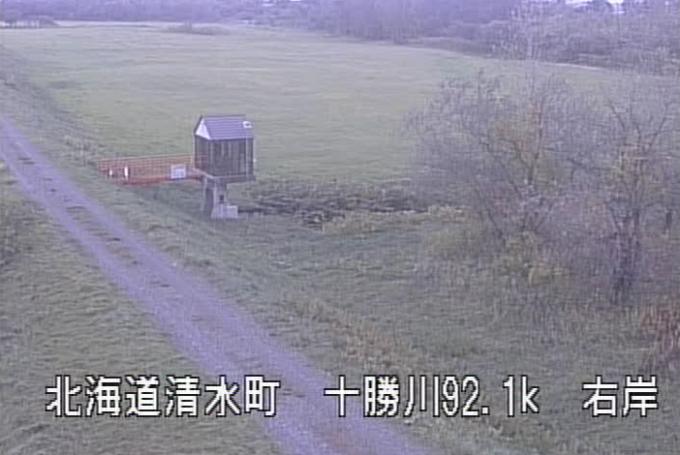 十勝川ニトマップ第2樋門ライブカメラ(北海道清水町人舞)