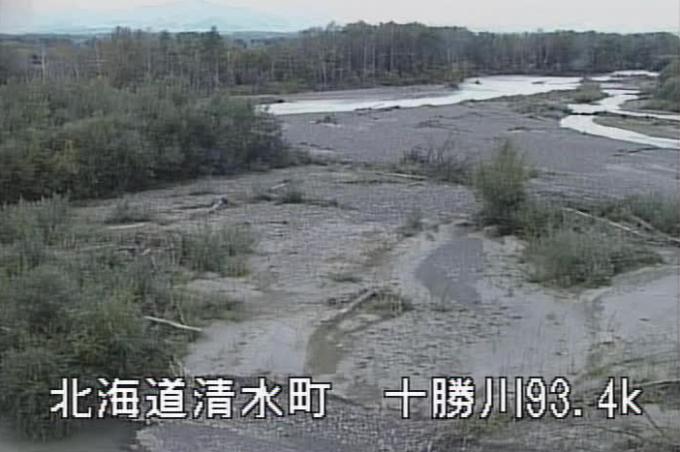 十勝川共栄橋ライブカメラ(北海道清水町人舞)