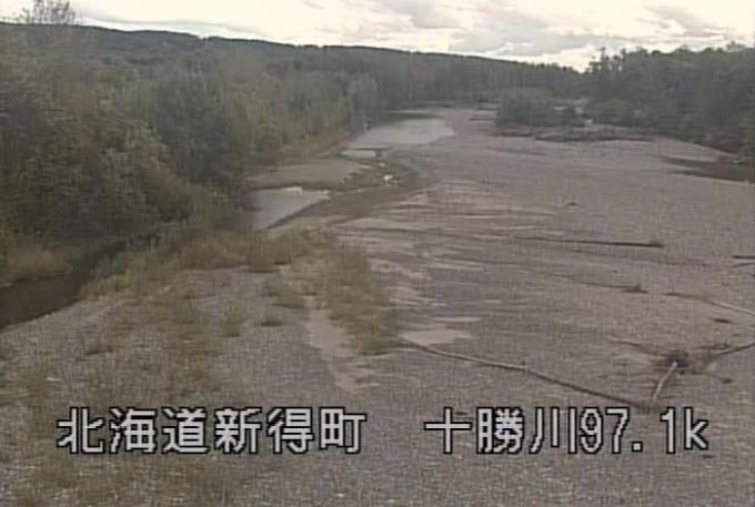 十勝川新清橋ライブカメラ(北海道新得町屈足)
