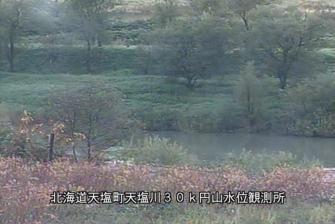 天塩川円山観測所ライブカメラ(北海道天塩町オヌプナイ)