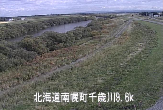 千歳川神田排水機場付近ライブカメラ(北海道南幌町南11線西)