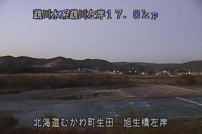 鵡川旭生橋ライブカメラ(北海道むかわ町生田)