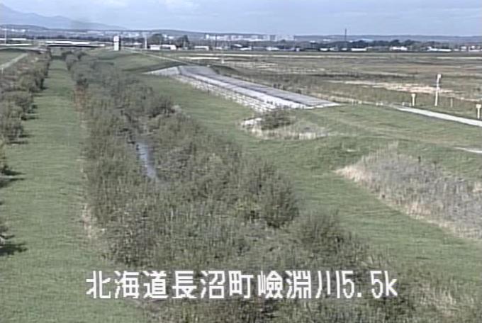 嶮淵川東11線ライブカメラ(北海道長沼町)