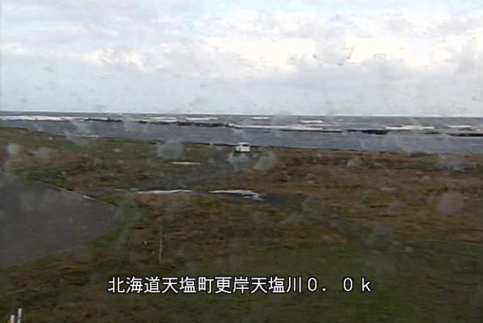 天塩川サラキシライブカメラ(北海道天塩町更岸)
