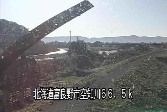 空知川水車川ライブカメラ(北海道富良野市学田三区)
