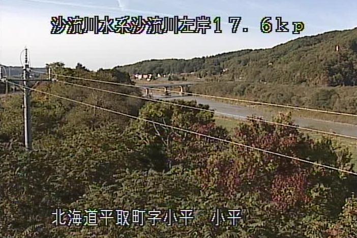 沙流川小平ライブカメラ(北海道平取町小平)