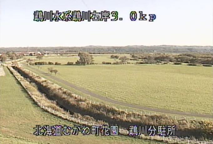 鵡川鵡川分駐所ライブカメラ(北海道むかわ町花園)