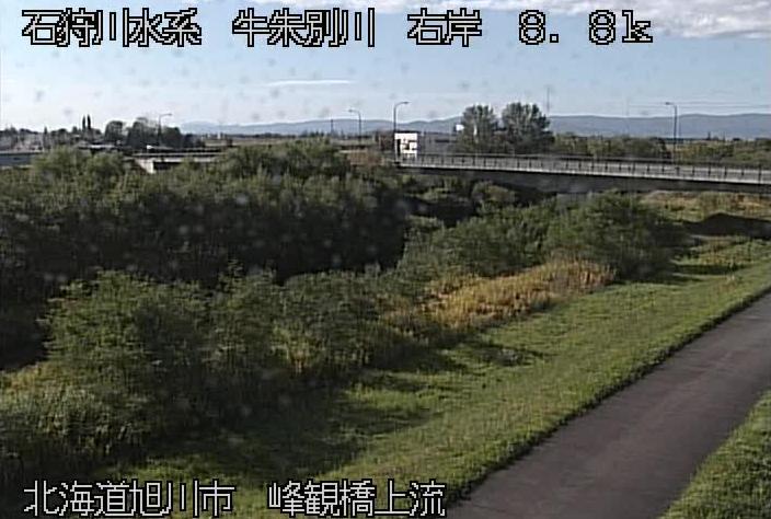 牛朱別川峰観橋ライブカメラ(北海道旭川市永山町)