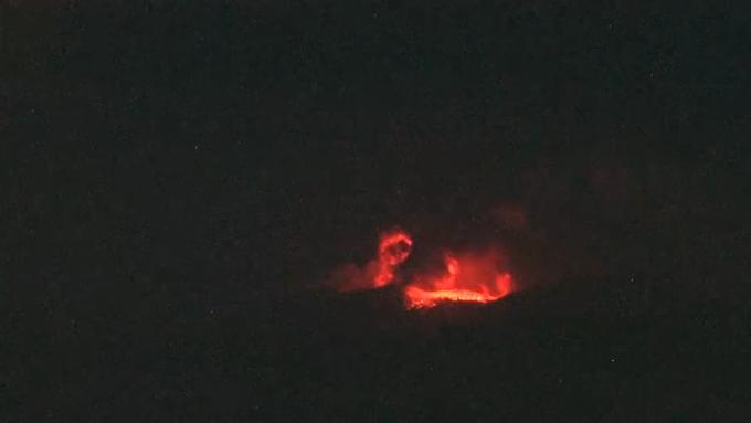 2018年4月5日 3時31分 新燃岳噴火時