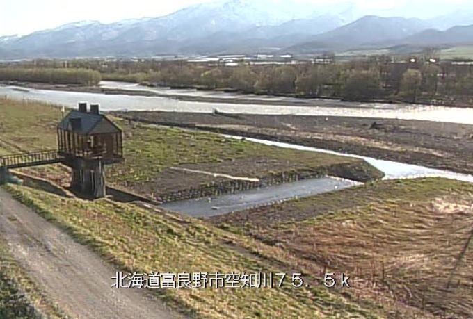 空知川滝の沢ライブカメラ(北海道富良野市布部)