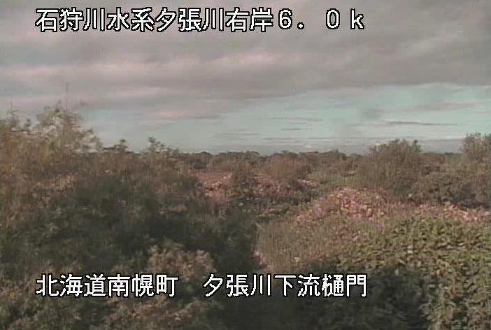 夕張川夕張川下流樋門ライブカメラ(北海道南幌町)