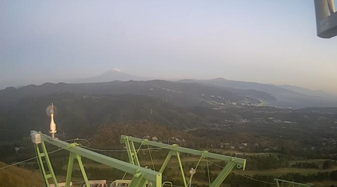 大室山山頂富士山ライブカメラ(静岡県伊東市富戸)
