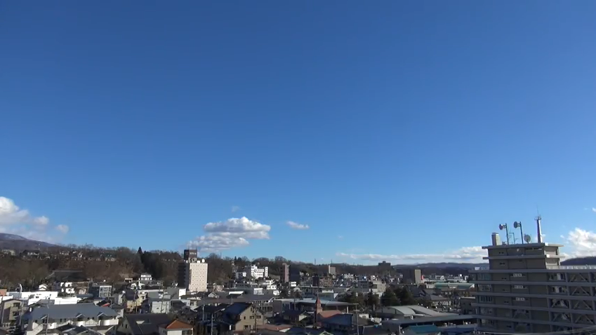 UCV上田市お天気ライブカメラ(長野県上田市中央)