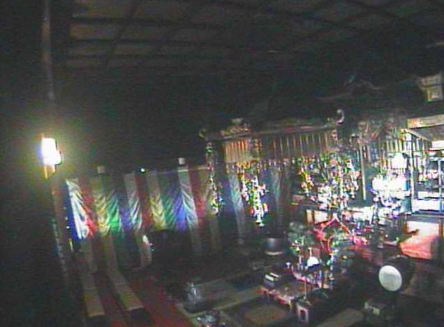 UCV信濃国分寺本堂内陣ライブカメラ(長野県上田市国分)