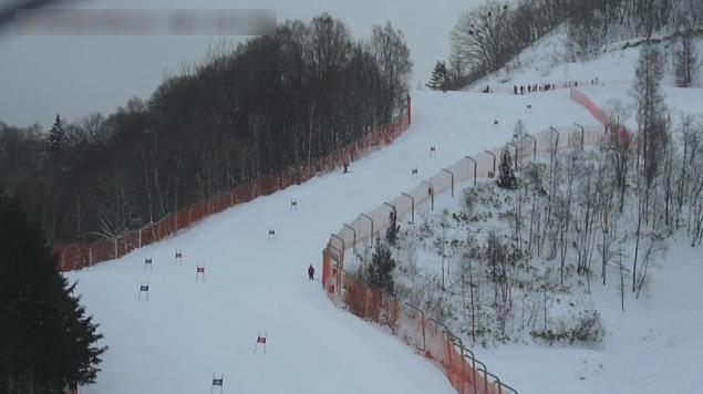 ほおのき平スキー場アルペンコースゴールハウスライブカメラ(岐阜県高山市丹生川町久手)