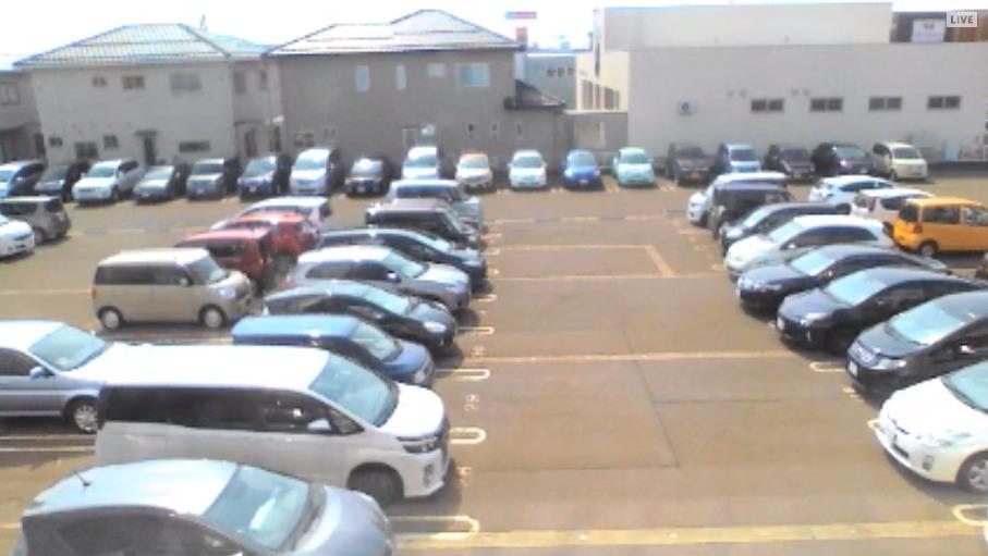 NTC駐車場積雪量ライブカメラ(新潟県長岡市喜多町)