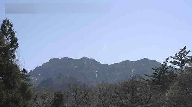 石鎚神社成就社石鎚山ライブカメラ(愛媛県西条市小松町)