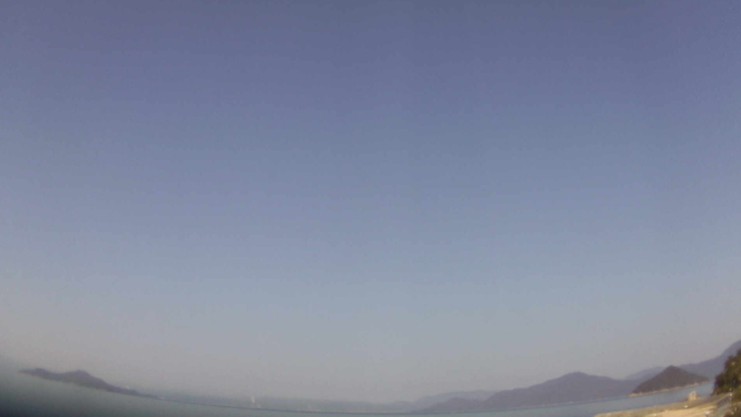 サンビーチおきみライブカメラ(広島県江田島市沖美町)