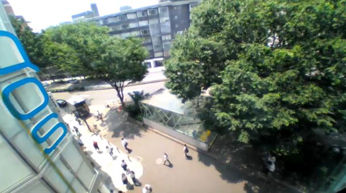 原宿駅前交差点ライブカメラ(東京都渋谷区神宮前)
