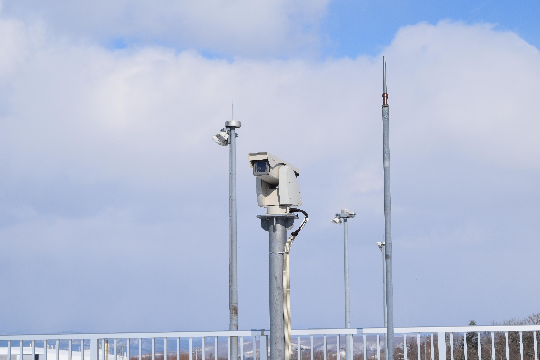 空港に設置しているライブカメラ
