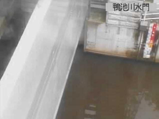 鴨池川水門ライブカメラ(長野県諏訪市豊田)