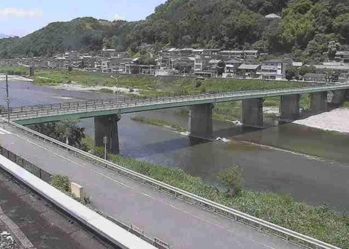 紀の川上市ライブカメラ(奈良県吉野町上市)