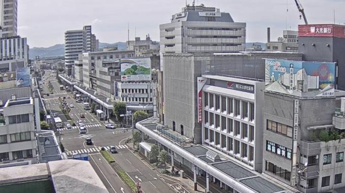 NCT長岡駅前大手通り交差点ライブカメラ(新潟県長岡市大手通)