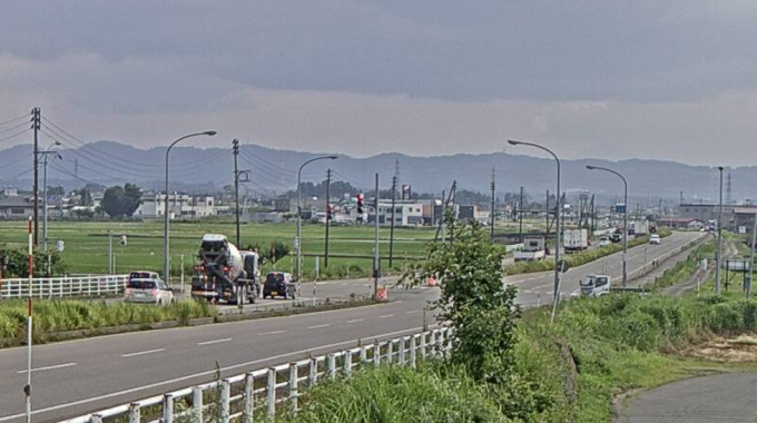 NCT国道17号豊詰交差点ライブカメラ(新潟県長岡市豊詰町)