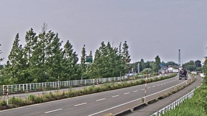 NCT国道8号中之島付近ライブカメラ(新潟県長岡市灰島新田)