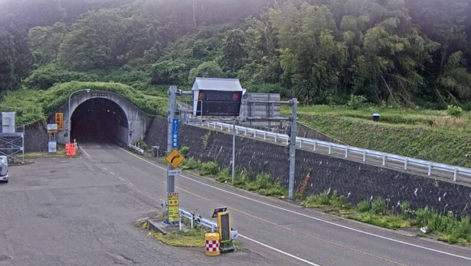 NCT新榎トンネル栃尾側ライブカメラ(新潟県長岡市比礼)