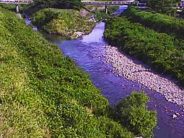 宇曽川島川ライブカメラ(滋賀県愛荘町島川)