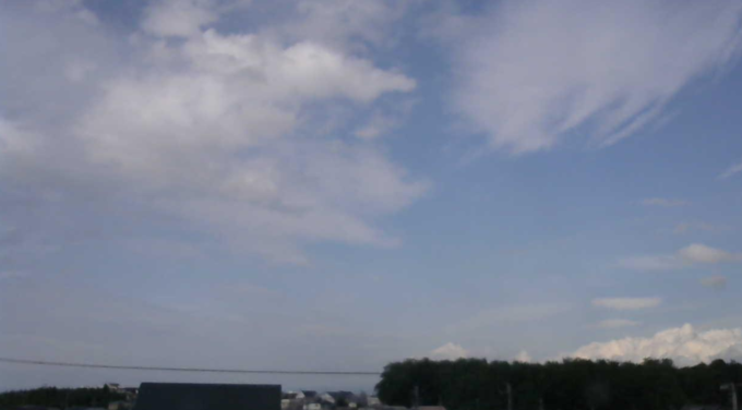 IoT百葉箱青森県立弘前南高等学校ライブカメラ(青森県弘前市大開)