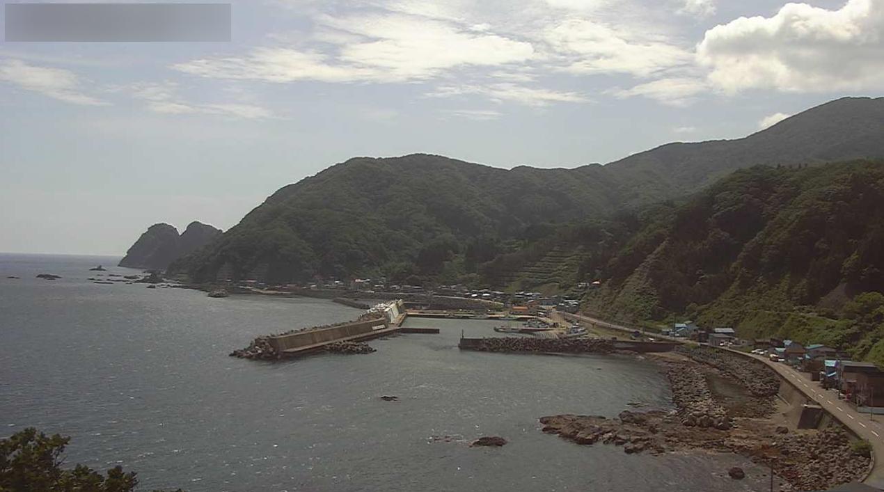 小谷石ライブカメラ(北海道知内町小谷石)