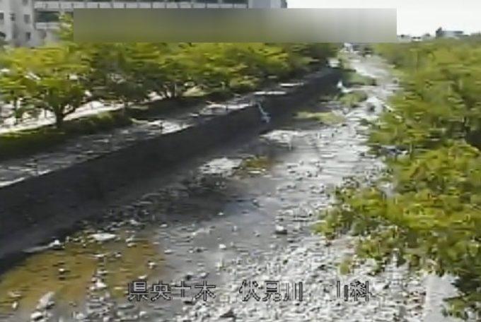 伏見川山科ライブカメラ(石川県金沢市山科)