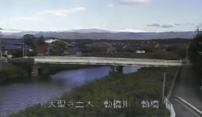 動橋川動橋大橋ライブカメラ(石川県加賀市動橋町)